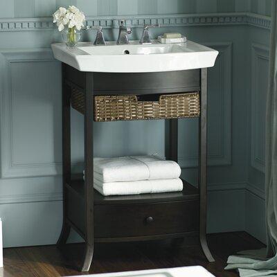 "Bathroom Sinks By Kohler kohler archer 24"" pedestal bathroom sink & reviews | wayfair"