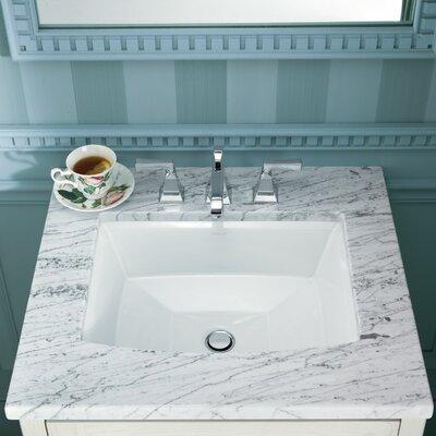 Bathroom Sinks Kohler kohler archer rectangular undermount bathroom sink & reviews | wayfair