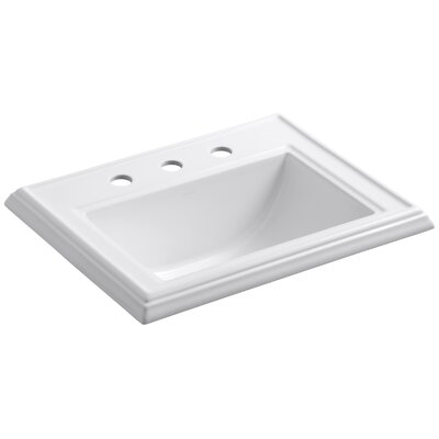 Kohler Memoirs Classic Self Rimming Bathroom Sink 8 Reviews Wayfair