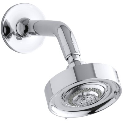 kohler purist 25 gpm wallmount shower head u0026 reviews wayfair - Kohler Purist