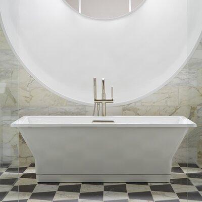 kohler cast iron freestanding tub. K 894 F62 0 Kohler Reve 67  x 36 Freestanding Soaking Reviews Wayfair