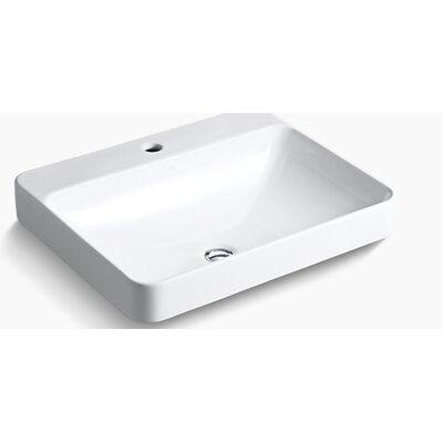 kohler vox rectangular vessel above counter bathroom sink reviews. Black Bedroom Furniture Sets. Home Design Ideas