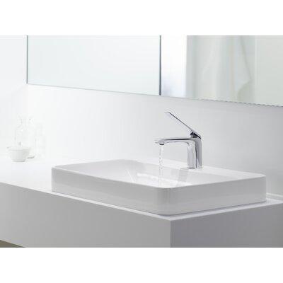 Bathroom Sinks By Kohler kohler vox rectangular vessel bathroom sink & reviews | wayfair