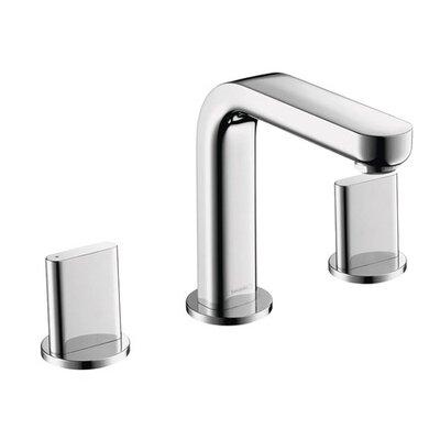 Hansgrohe Metris Double Handles Widespread Standard Bathroom Faucet U0026  Reviews | Wayfair