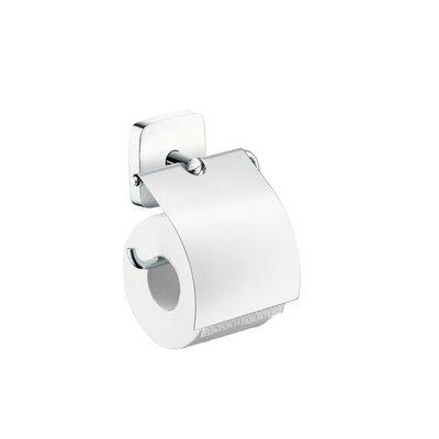 Wall Toilet Paper Holder hansgrohe puravida wall mounted toilet paper holder & reviews