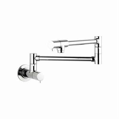 hansgrohe talis s two handle wall mounted pot filler faucet u0026 reviews wayfair - Hansgrohe Faucets