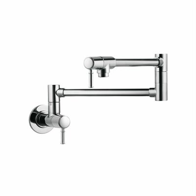 hansgrohe talis c two handle wall mounted pot fillers faucet u0026 reviews wayfair