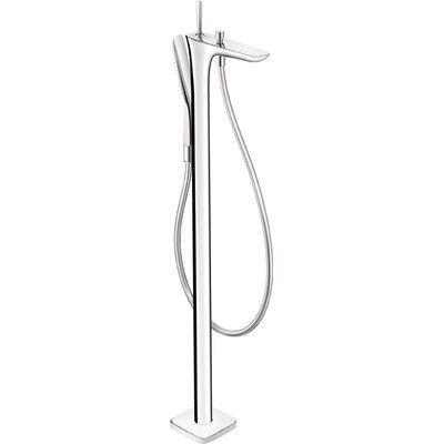 hansgrohe puravida single handle floor mount tub faucet trim u0026 reviews wayfair