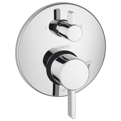 hansgrohe hg s pressure balance diverter faucet trim with lever handle u0026 reviews wayfair - Hansgrohe Shower