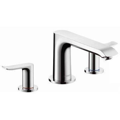 hansgrohe metris two handle deck mounted roman tub faucet u0026 reviews wayfair - Hansgrohe Faucets