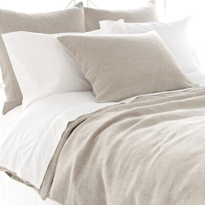 pine cone hill stone washed linen duvet cover collection & reviews