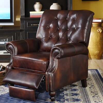 Lazzaro Leather Leather Manual Recliner U0026 Reviews | Wayfair
