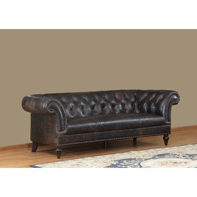 Lazzaro Leather Brooks Leather Chesterfield Sofa U0026 Reviews | Wayfair