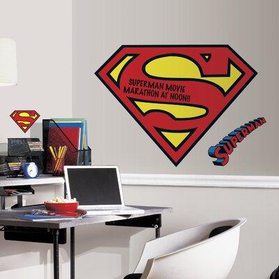 Room Mates Popular Characters Superman Logo Dry Erase Wall Decal U0026 Reviews  | Wayfair Part 70