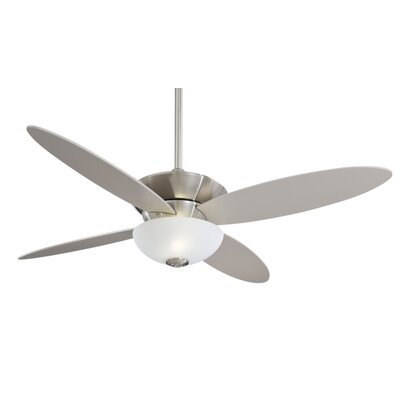 ceiling fan 4 blades. minka aire 52\ ceiling fan 4 blades l