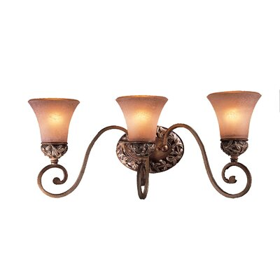 Salon Grand Jessica McClintock 3 Light Vanity Light