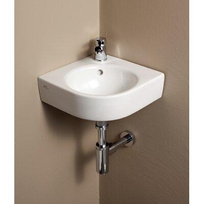 corner bathroom sinks you'll love  wayfair,