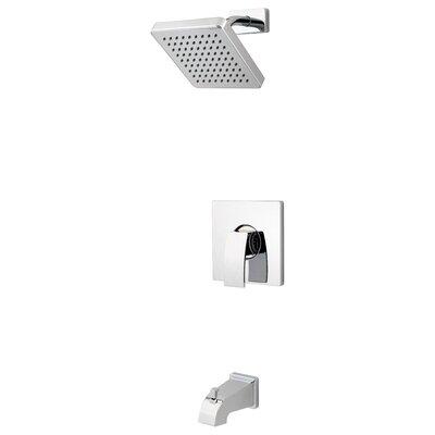 pfister kenzo tub and shower faucet trim with knob handle u0026 reviews wayfair