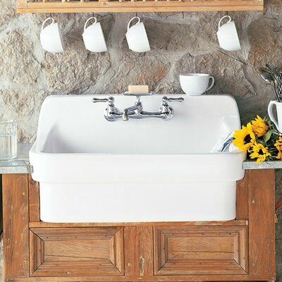 american standard 30   x 22   country kitchen sink  u0026 reviews   wayfair  rh   wayfair com