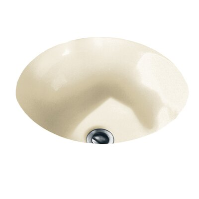 American Standard Orbit Circular Undermount Bathroom Sink With Overflow U0026  Reviews   Wayfair