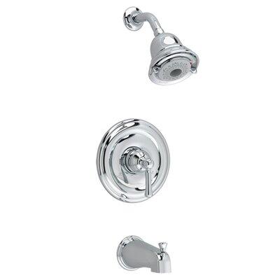 american standard portsmouth flowise dual bathshower faucet trim kit u0026 reviews wayfair
