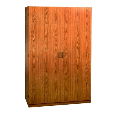 Red Barrel Studio Marian Oak 2 Door Armoire U0026 Reviews | Wayfair
