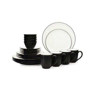 noritake colorwave 20 piece dinnerware set service for 4 u0026 reviews wayfair - Noritake Colorwave