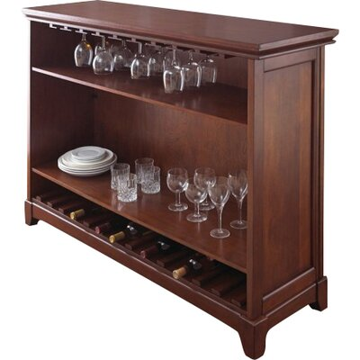 steve silver furniture martinez bar with wine storage u0026 reviews wayfair - Steve Silver Furniture