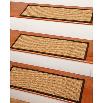 carpet stair treads set of 13 natural area rugs skyline tread bullnose canada rug lowes