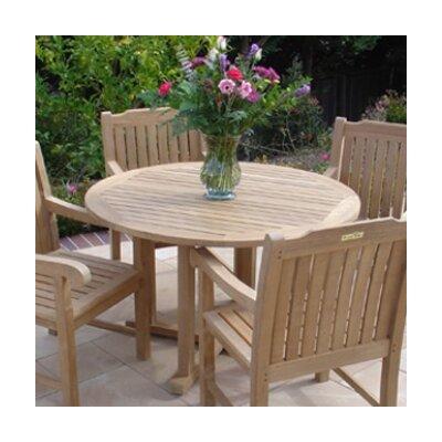 Amazing Royal Teak Teakwood Cambridge Round Dining Table U0026 Reviews | Wayfair