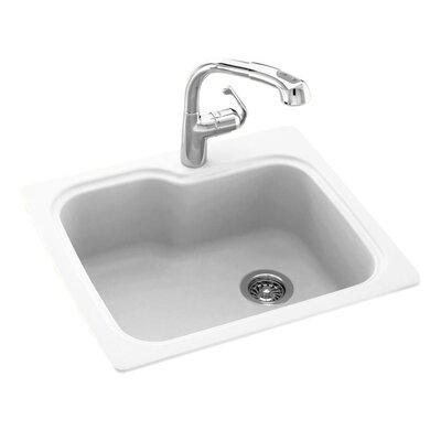 swanstone 25   x 22   drop in undermount kitchen sink  u0026 reviews   wayfair swanstone 25   x 22   drop in undermount kitchen sink  u0026 reviews      rh   wayfair com