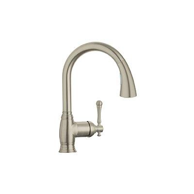 Grohe Bridgeford Single Handle Deck Mount Kitchen Sink Faucet U0026 Reviews    Wayfair