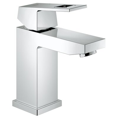 grohe eurocube centerset single hole bathroom faucet & reviews