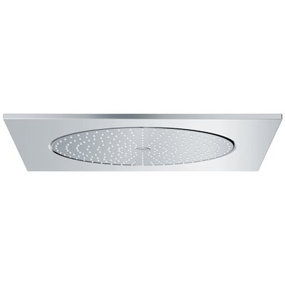 Rain Shower Head grohe rainshower f series ceiling shower head & reviews | wayfair