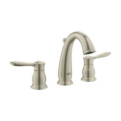 grohe parkfield double handle widespread bathroom faucet & reviews