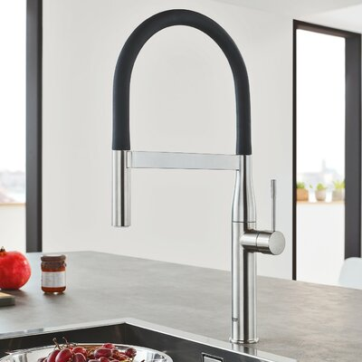 Merveilleux Grohe Essence Single Handle Kitchen Faucet With SilkMove® U0026 Reviews |  Wayfair