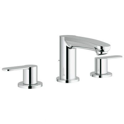 grohe eurostyle double handle widespread bathroom faucet & reviews