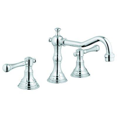 grohe bridgeford widespread bathroom faucet, less handles