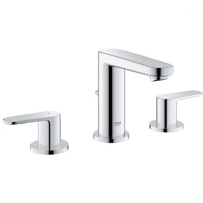Bathroom Faucets Hansgrohe grohe europlus double handle bathroom faucet & reviews | wayfair