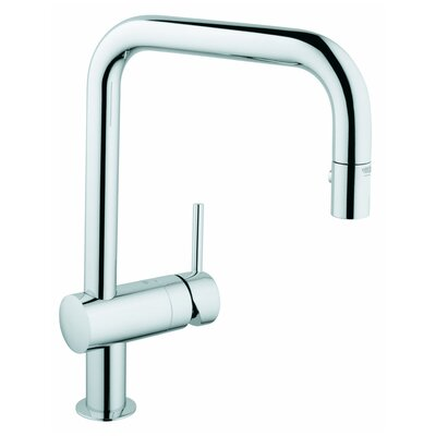 Grohe Minta Single Handle Single Hole Standard Kitchen Faucet ...