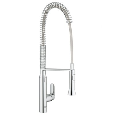 Grohe K7 Single Handle Single Hole Standard Kitchen Faucet