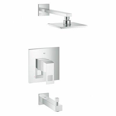 grohe eurocube volume control tub and shower faucet u0026 reviews wayfair