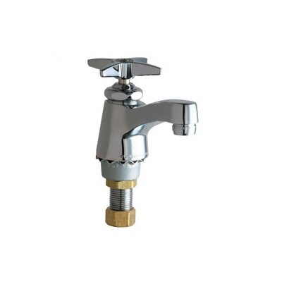 Chicago Faucets Singgle Hole Cold Water Bathroom Faucet with ...