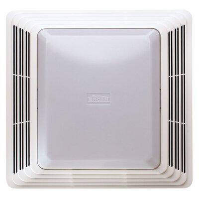 broan 70 cfm bathroom exhaust fan with light reviews wayfair