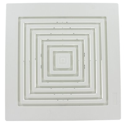 broan bathroom fan spring mounted grille assembly & reviews | wayfair