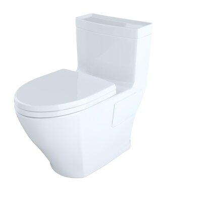 toto legato high efficiency 128 gpf elongated onepiece toilet u0026 reviews wayfair