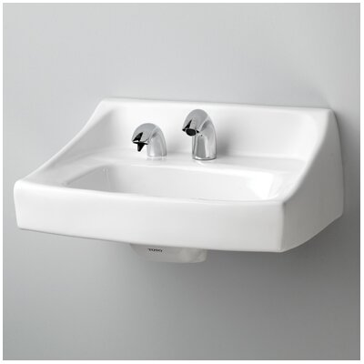 Toto Commercial 31 Wall Mount Bathroom Sink With Overflow Reviews Wayfair