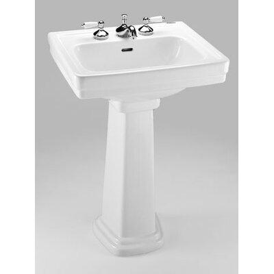 Toto Promenade 24 Pedestal Bathroom Sink With Overflow Reviews Wayfair