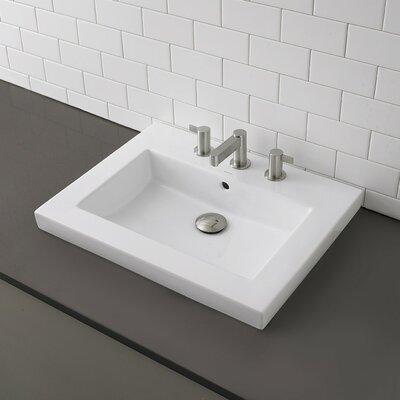 decolav classically redefined rectangular semirecessed bathroom, Bathroom decor