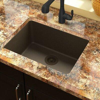 elkay quartz classic 25 x 185 undermount kitchen sink reviews wayfair. Interior Design Ideas. Home Design Ideas